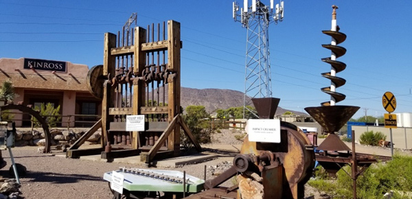 McCaw Mine Experience equipment yard